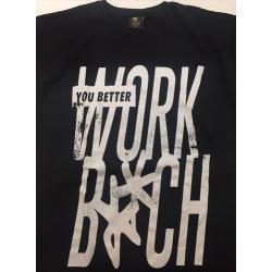 """T-shirt noir """"You Better..."""