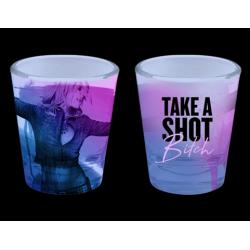 """Verre à vodka """"Take A Shot..."""