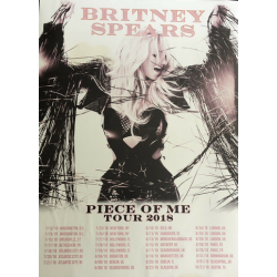 "Poster ""Piece Of Me Tour 2018"""