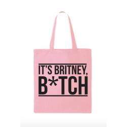 "Sac en tissu ""It's Britney..."