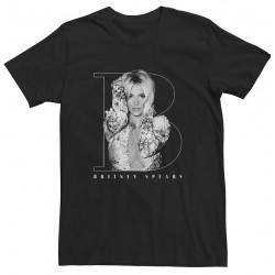T-shirt noir «B-2019»...