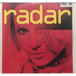 "CD promo 6 titres ""Radar"" (UK)"