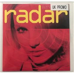 """CD promo 1 titre """"Radar"""" (UK)"""