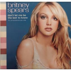 "CD single promo ""Don't Let..."