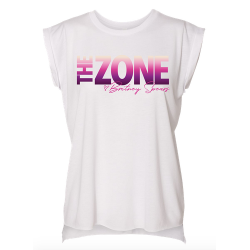 "T-shirt blanc ""The Zone""..."