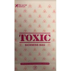 "Sachet d'avion ""Toxic"" -..."
