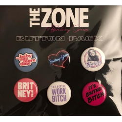 Pack de 6 badges - The Zone...