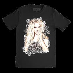 """T-shirt """"dentelle"""" (unisexe)"""