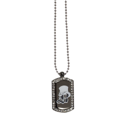"Collier dog tag ""Circus Tour"""