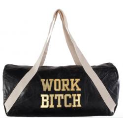 """Work Bitch"" leather-like..."