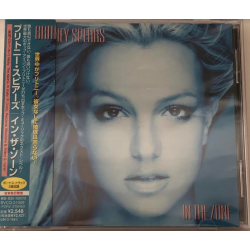 "CD ""In The Zone"" (Japon)"