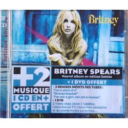 """CD + DVD """"Britney""""..."""