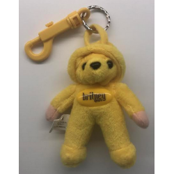 Keychain yellow teddy bear