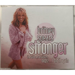 "CD promo ""Stronger"" (Mexico)"