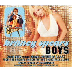 "3 tracks CD ""Boys"" (Europe)"