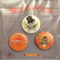 Set of 3 Circus Tour pins...