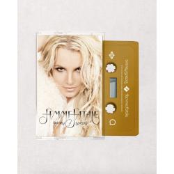 """Gold Cassette tape """"Femme..."""
