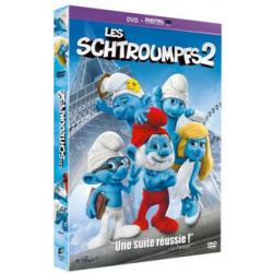 """DVD """"Les Schtroumpfs 2""""..."""