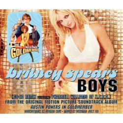"""CD 4 titres  """"Boys"""" (Europe)"""