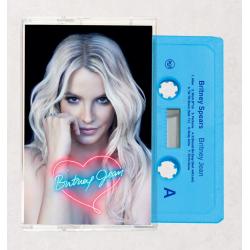 """Blue Cassette tape """"Britney..."""