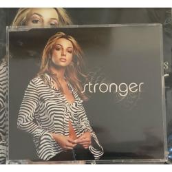 """""""Stronger"""" 1-track promo CD..."""