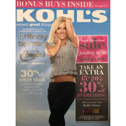 KOHL'S promo catalogue (USA)