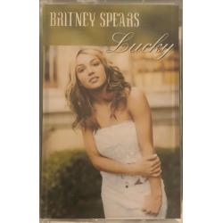 """""""Lucky"""" cassette single (UK)"""