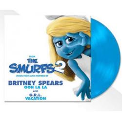"""Vinyle bleu 45T """"Ooh La La""""..."""
